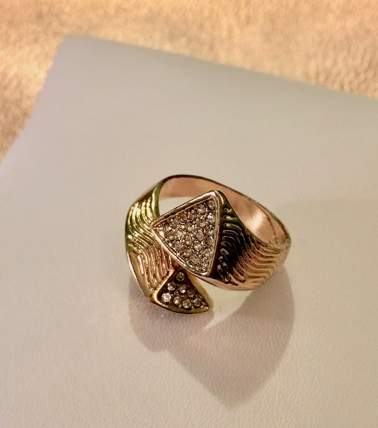 Image of Rhinestone Wrap Ring (More Colors)