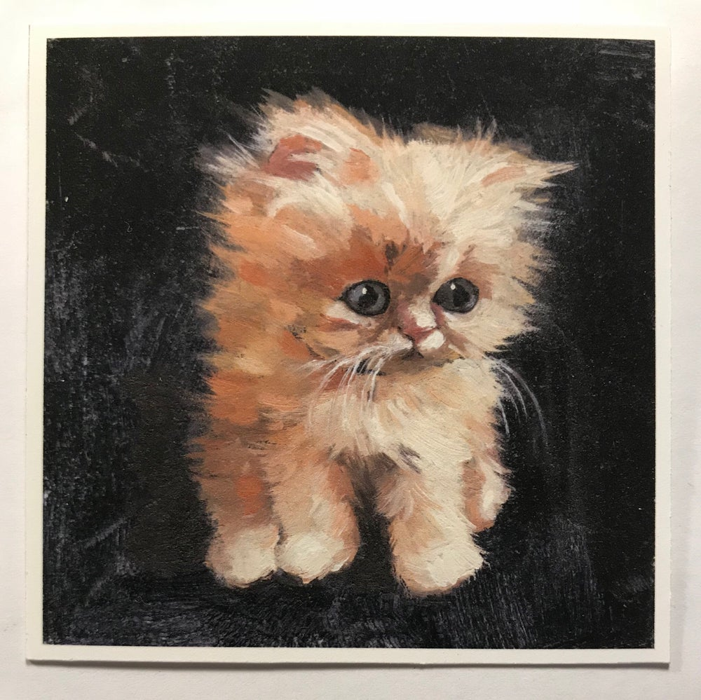 "Image of ""Canelo"" miniature print"