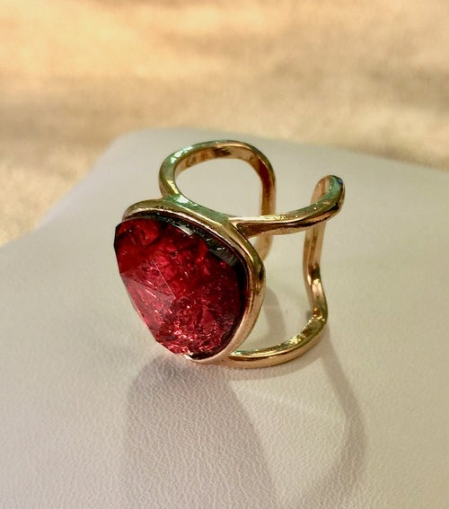 Image of Stone Cage Ring (More Colors)