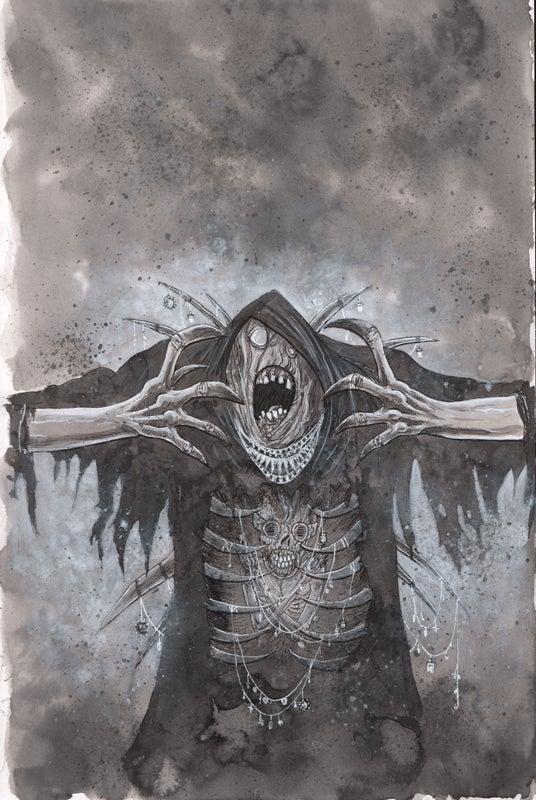 Image of BACKWAYS #1 COVER VARIANT ORIGINAL ART