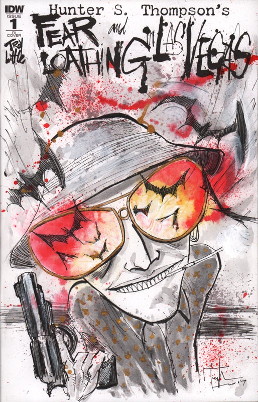 Image of FEAR & LOATHING #1 PAINTED SKETCH COVER 01