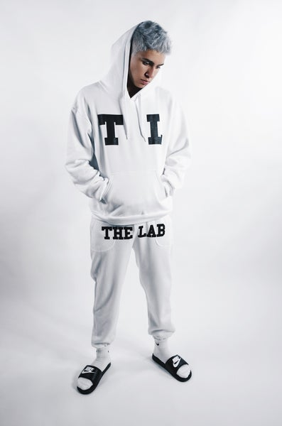 Image of TL 23 Closed Bottom Sweats White