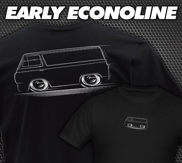Image of Econoline Van T-Shirts Hoodies Banners