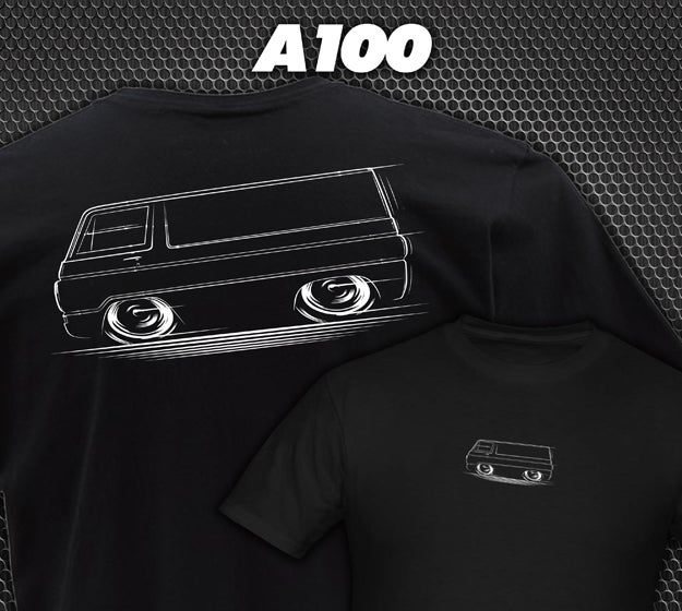 Image of A100 T-Shirts Hoodies Banners