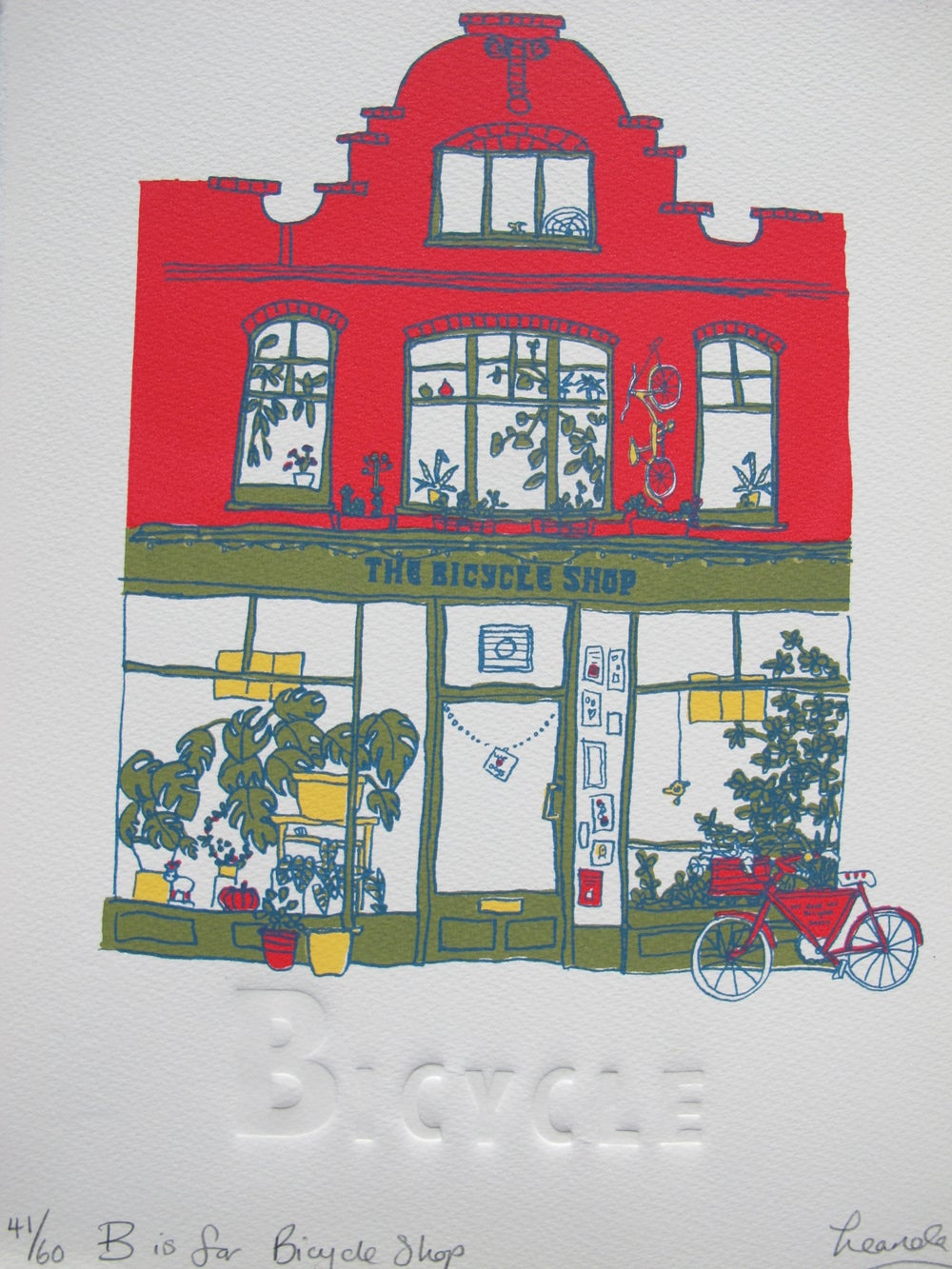 Image of B is for Bicycle Shop