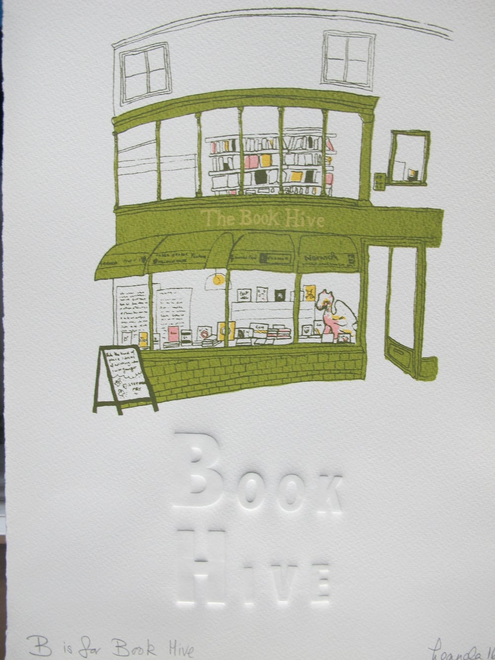 Image of B is for Book Hive