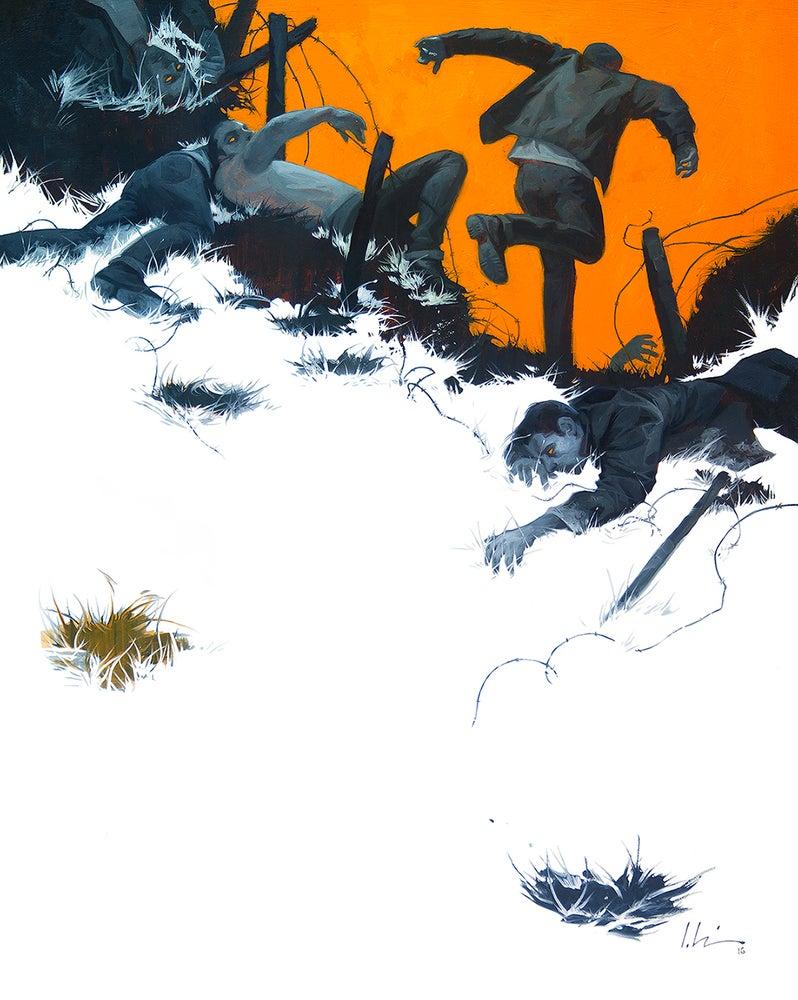 Image of Run, Run, Run - Wax Ink Prints