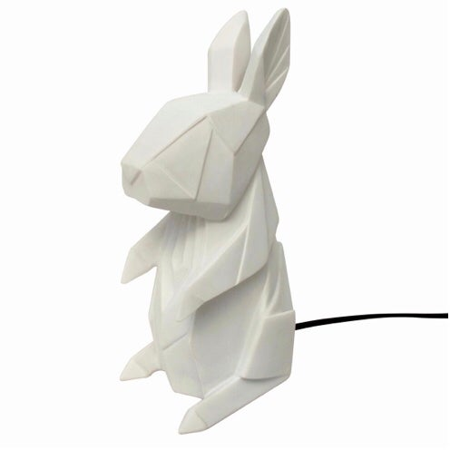 Image of White Rabbit Origami LED Light Lamp
