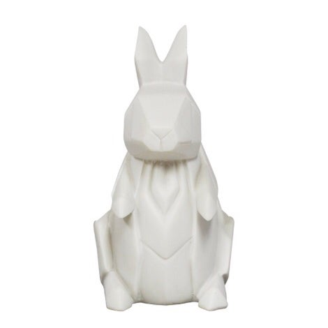 Image of Mini White Rabbit Origami LED Lamp Light