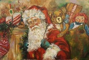 """Image of """"Santa Claus Has Come Town"""""""