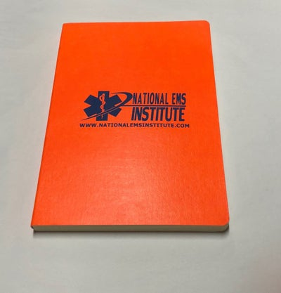 Image of NEI Orange Notebook