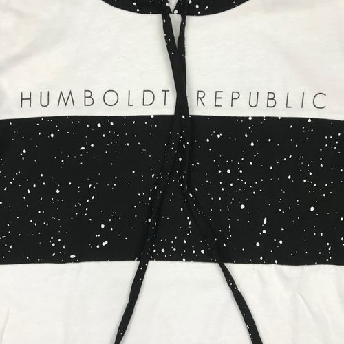 """Image of """"Space Dust"""" Men's Limited Cut & Sew Hooded Top"""