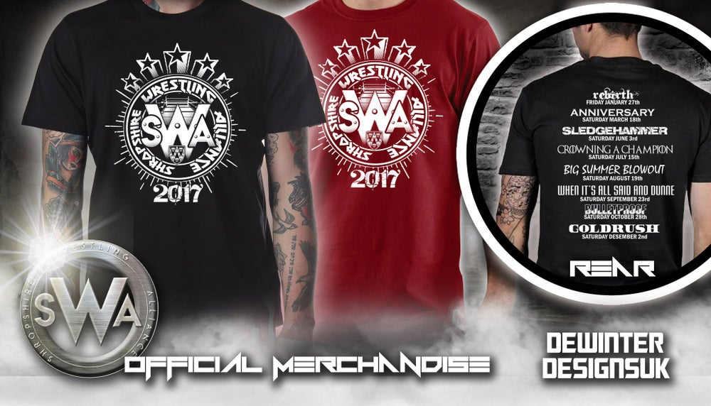 Image of SWA 2017 Tour Date Shirt