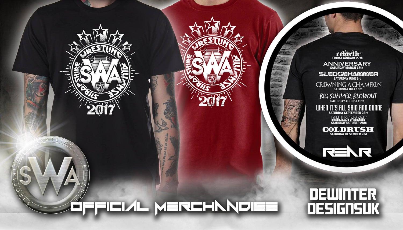 Image of SWA 2017 Tour Date Shirt