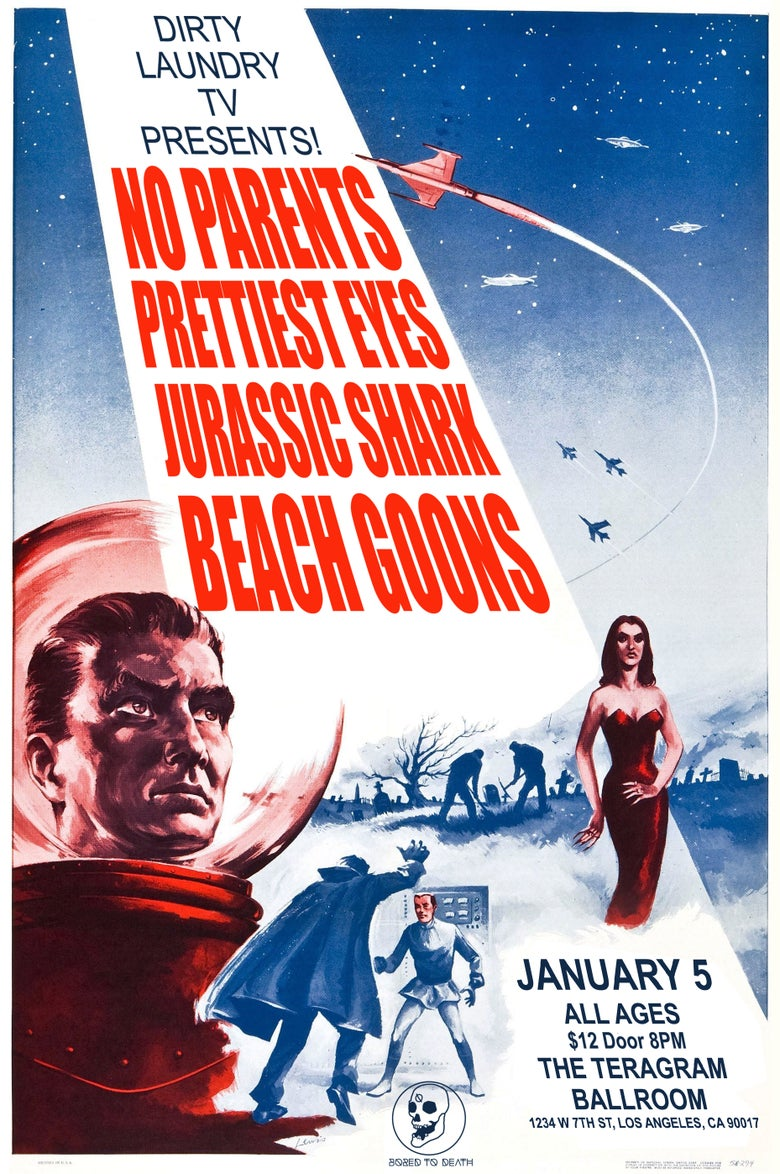 Image of NO PARENTS POSTER