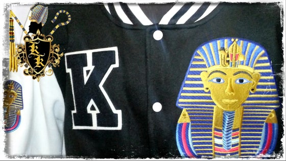 Image of KING TUT VARSITY JACKET