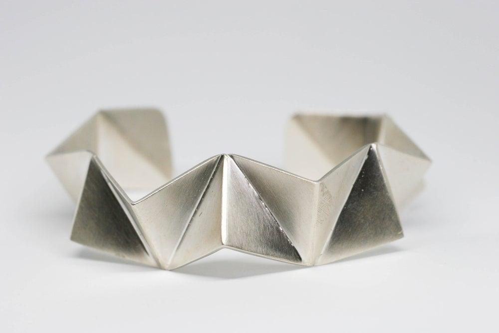 Image of Folded cuff bracelet