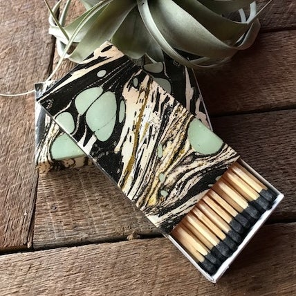Image of Marbled Box of Matches