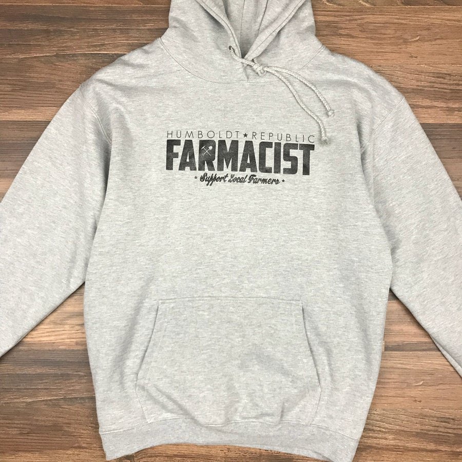 "Image of ""Farmacist"" Men's Pullover Hoodie"
