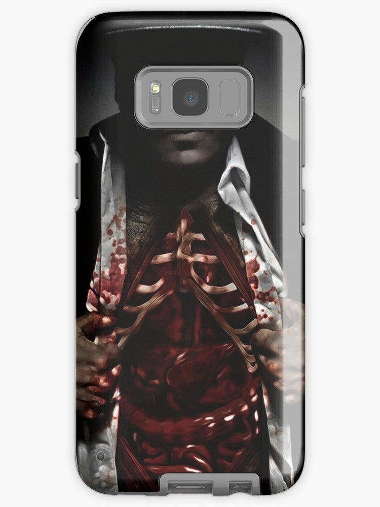 """Image of """"Feed the Monsters"""" Samsung Galaxy Tough Case"""
