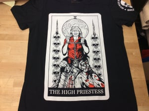 "Image of Aileen Wuornos ""The High Priestess"" Tarot Shirt"