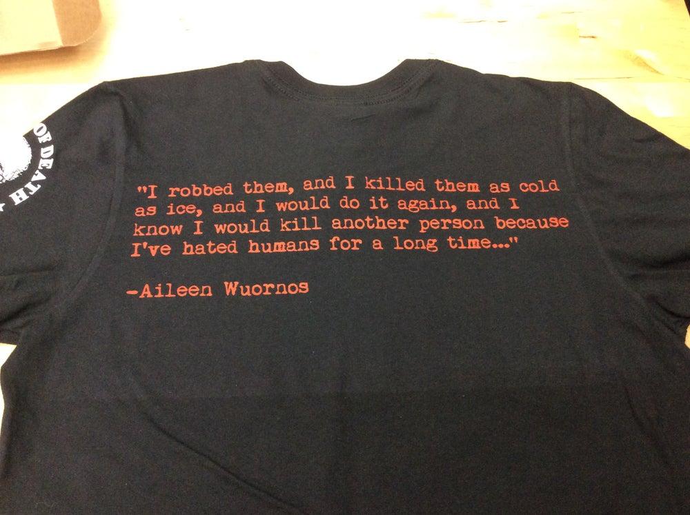"Image of Aileen Wuornos ""The High Priestess"" Tarot Shirt"