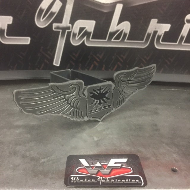 Image of US Air Force Navigator Wings Hitch Cover