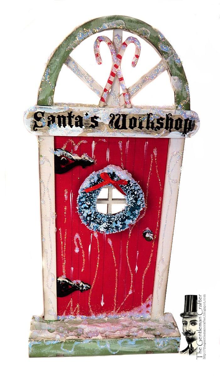 Image of Fairy Lane Door- #111 Special Edition- Santa's Workshop 2017