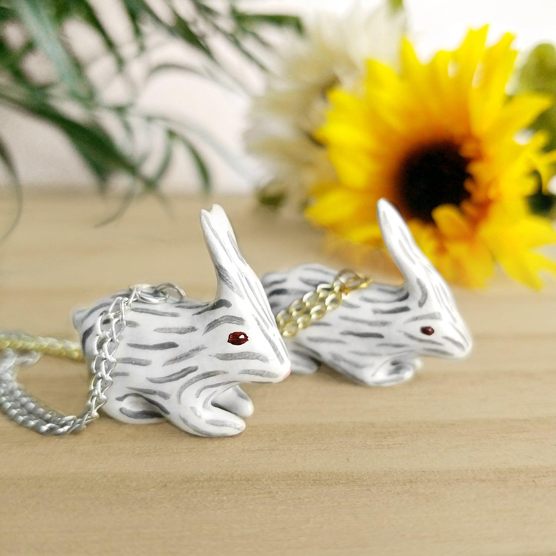 Image of Liten Kanin Classic Rabbit Necklace