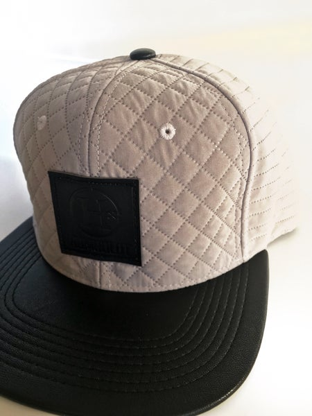 """Image of """"Between Sheets"""" Quilted Snapback Hat"""