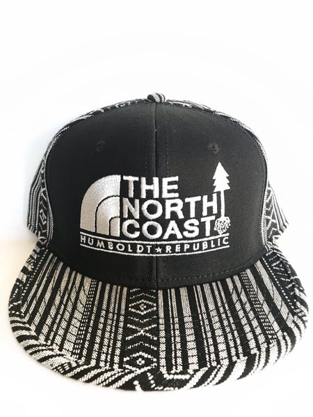 """Image of """"The North Coast"""" Embroidered Snapback Hat"""