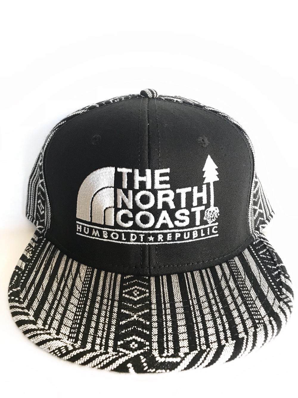 "Image of ""The North Coast"" Embroidered Snapback Hat"