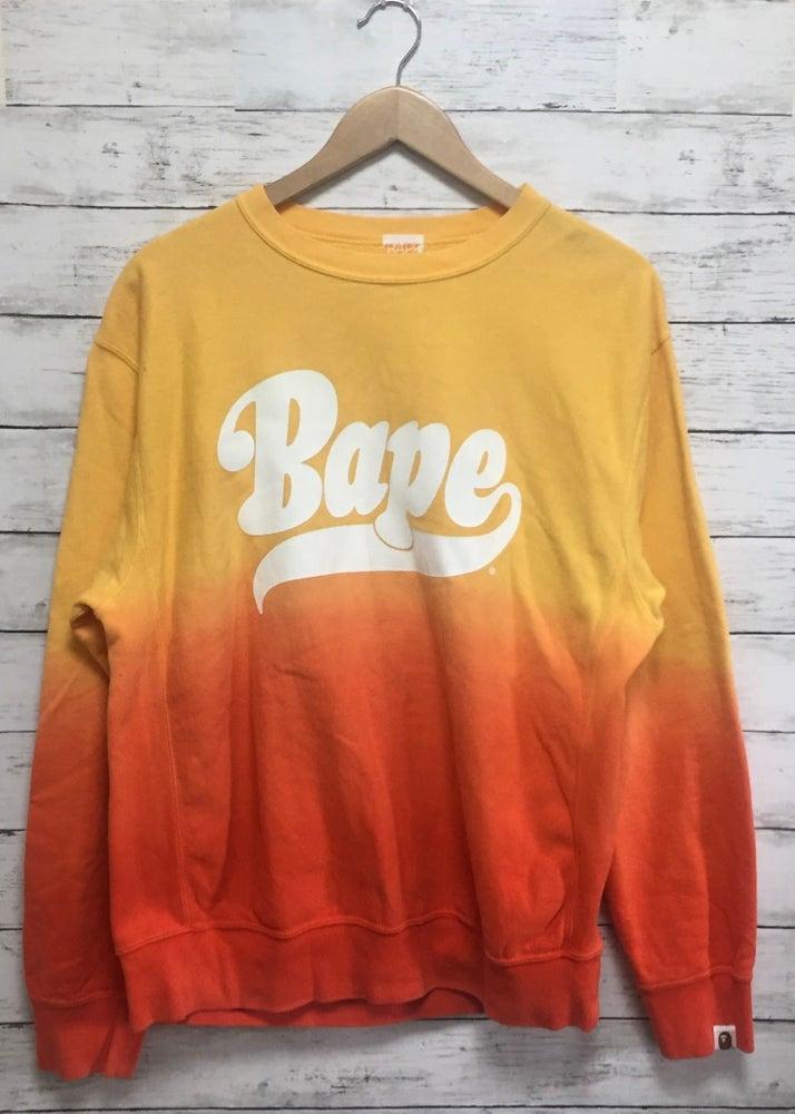 Image of Bape Gradient Vintage Sweatshirt