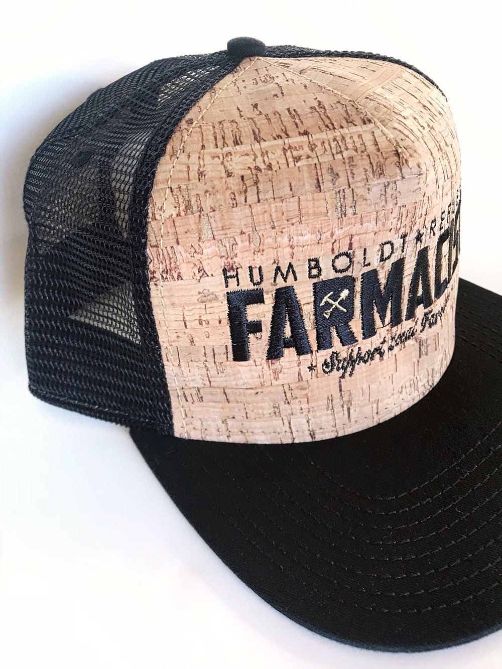 "Image of ""Farmacist"" Meshback Cork Hat"