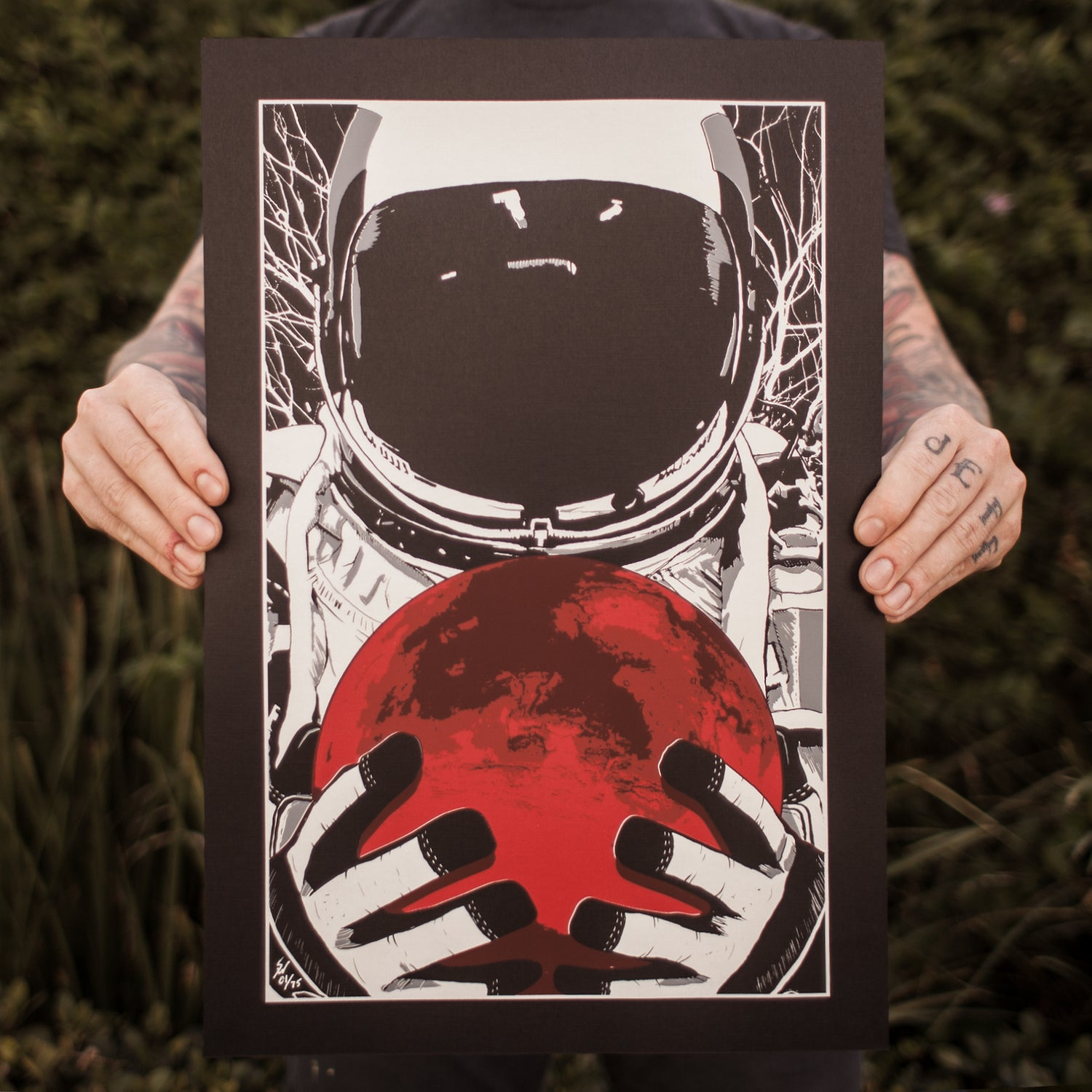 Image of Rise Up Screen Print