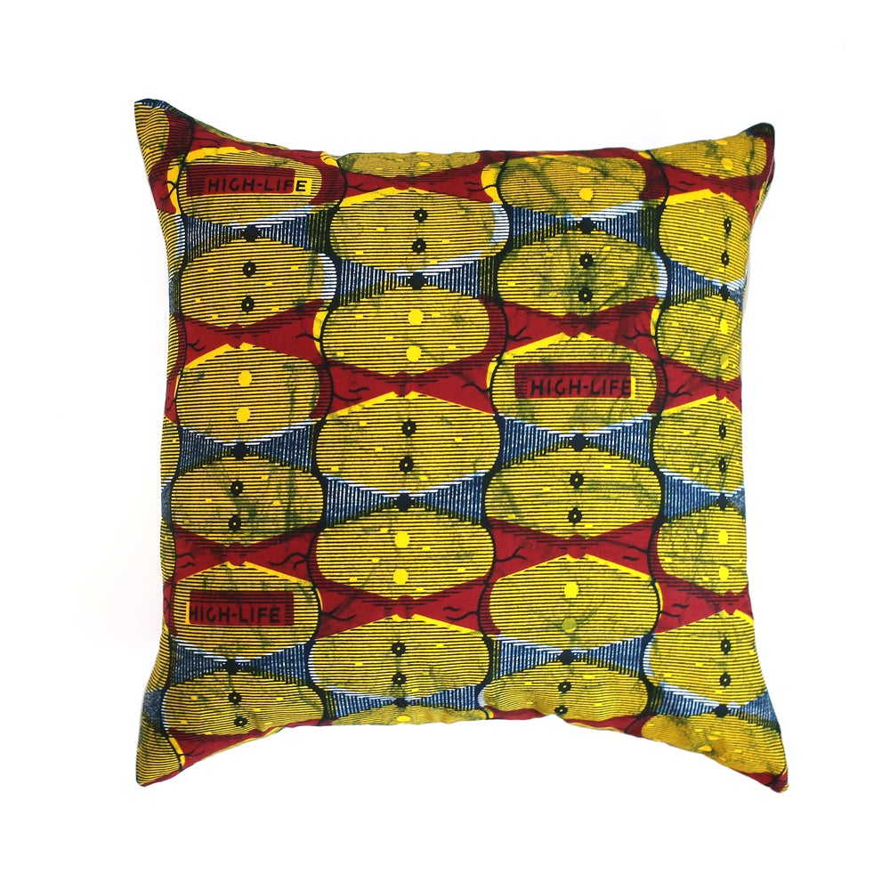 Image of Highlife cushion cover