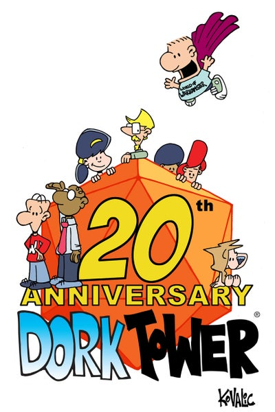 Image of Dork Tower 20th Anniversary Print