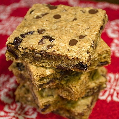Image of co-operative cherry chocolate chip bar