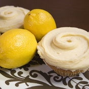 Image of lovely lemon cupcake