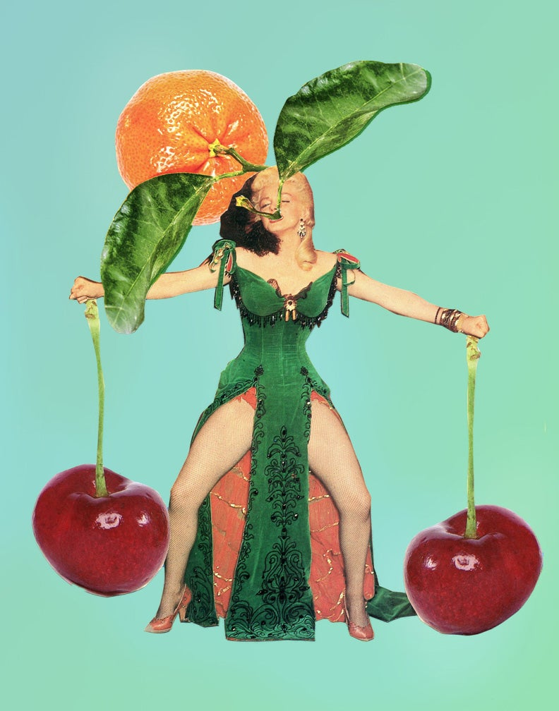 Image of Cherry Bomb Art Print