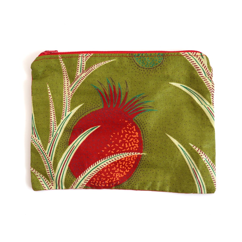Image of Pineapple zip bag - medium
