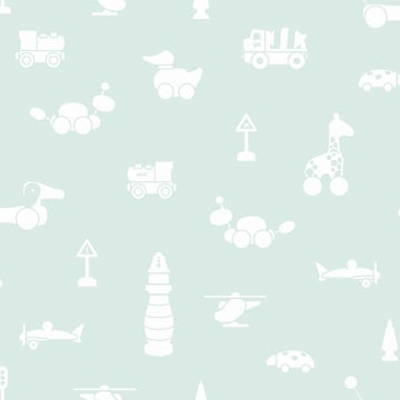 Image of Papel pintado Brio icons_Scandinavian designers mini