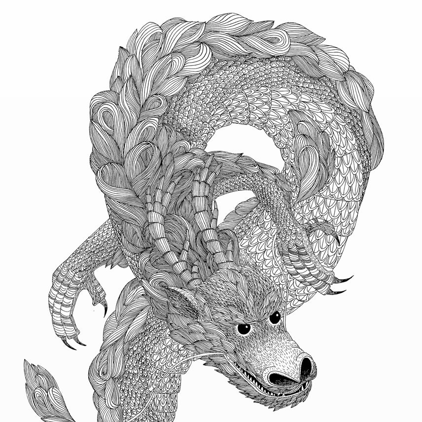 Image of Print Dragon