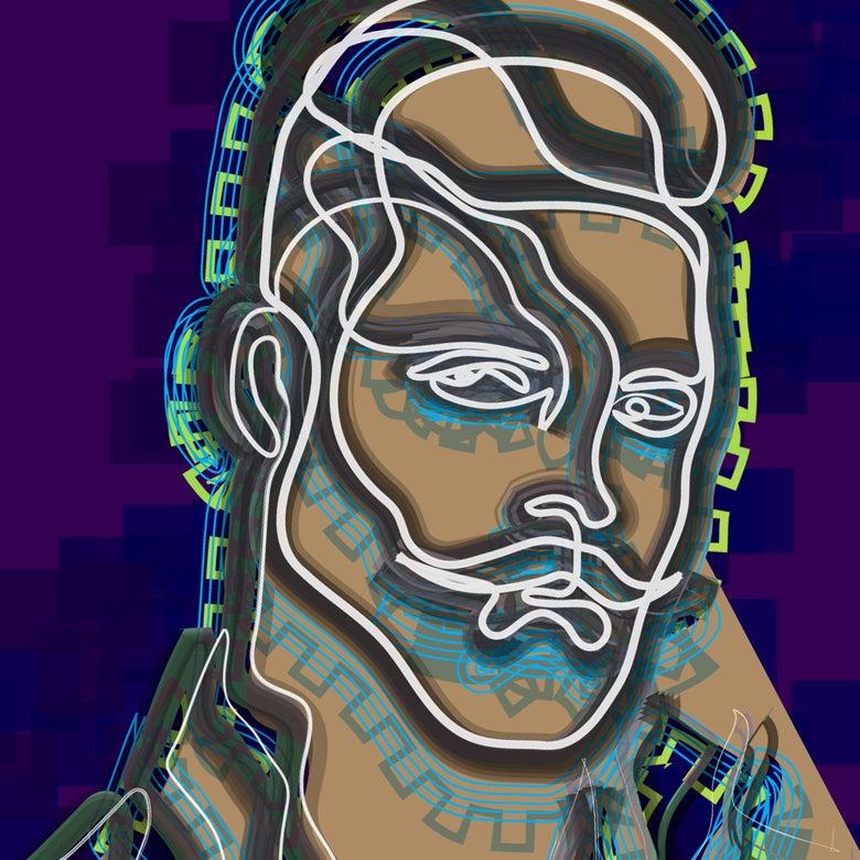 Image of Mr. Moustache