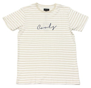 Image of Script Embroider Tee