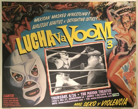 Image of Lucha VaVOOM 3