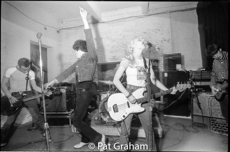 Image of Cupid Car Club Live at the Blagdon Alley Warehouse WDC 1993