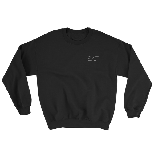 Image of Black Salt Crew Neck Sweatshirt