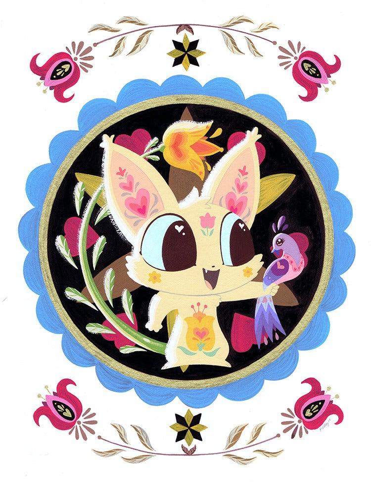 Image of Flower Ears