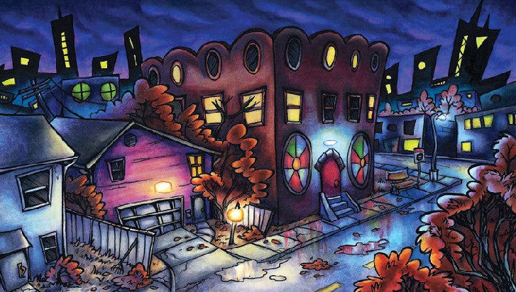 "Image of ""Night Streets"" Print"